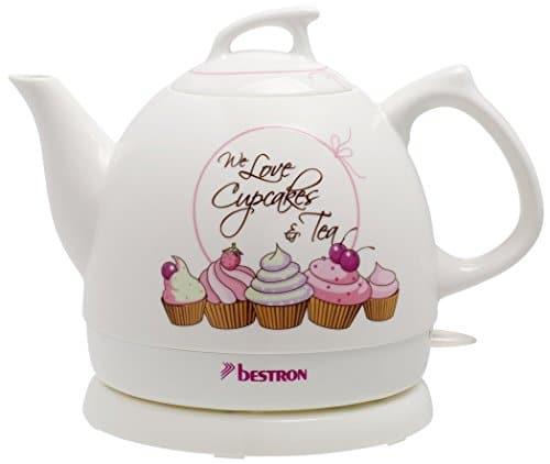 Bestron DTP800SD Retro Keramik Wasserkocher